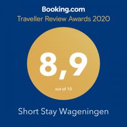 Booking Traveller review award 2020 Gerdesstraat Short Stay Wageningen