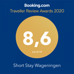 Booking Traveller review award 2020 Veerstraat Short Stay