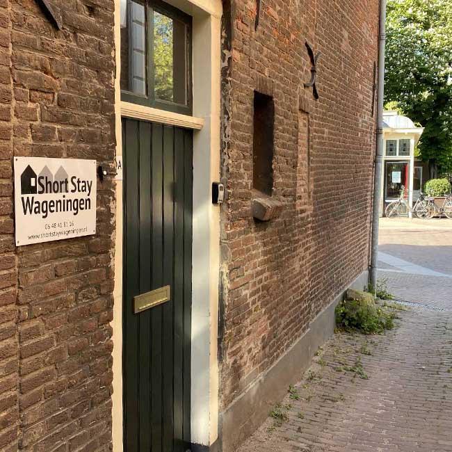 welcome ingang 5 mei plein - Short Stay Wageningen
