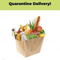 Quarantaine bezorg cover